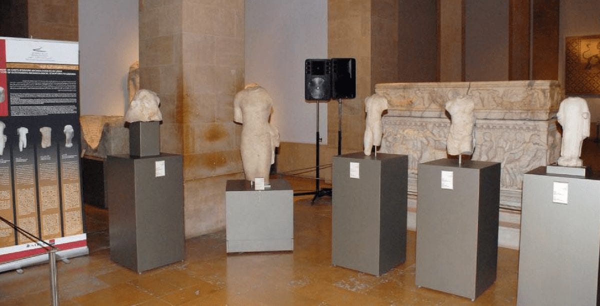 Stolen antiquities returned to the National Museum of Beirut