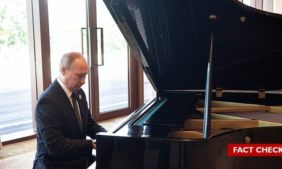 Fact Check Did Putin Play The Lebanese National Anthem On The Piano