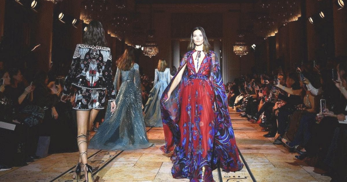 This Lebanese Designer Killed It At Paris Fashion Week 2020