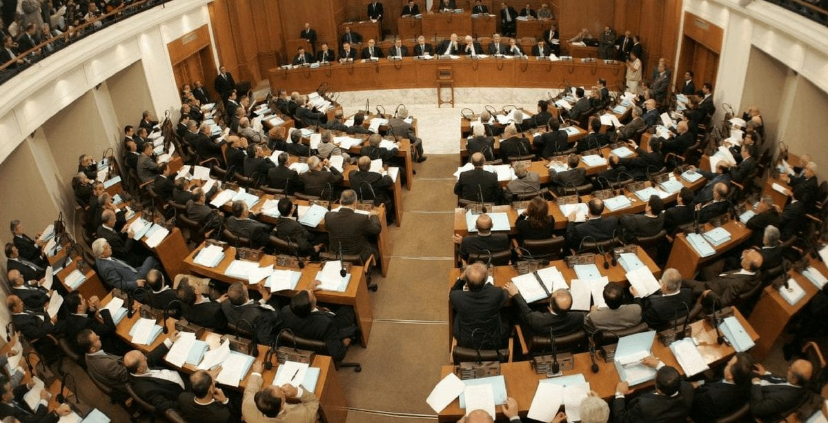 Lebanese MPs are set to give their vote of confidence to the newly-formed Lebanese government on Monday, but the Parliament headquarters is basking in darkness.