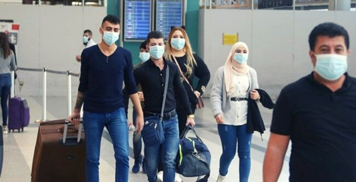 Lebanon recorded new COVID-19 cases on March 18th