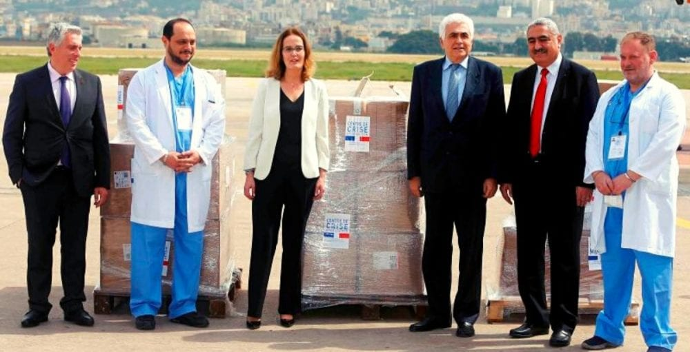 Lebanon receives medical equipment from France