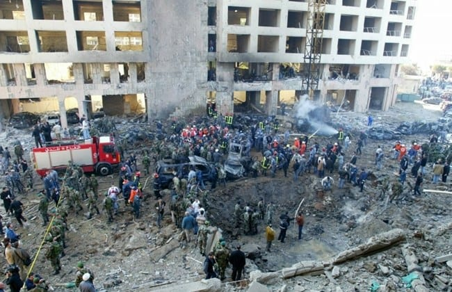 Late Prime Minister Rafik Hariri was assassinated in a car bombing in 2005