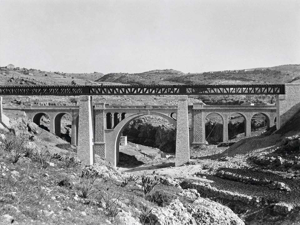 A bridge in Lebanon, built by the Allies in WW2