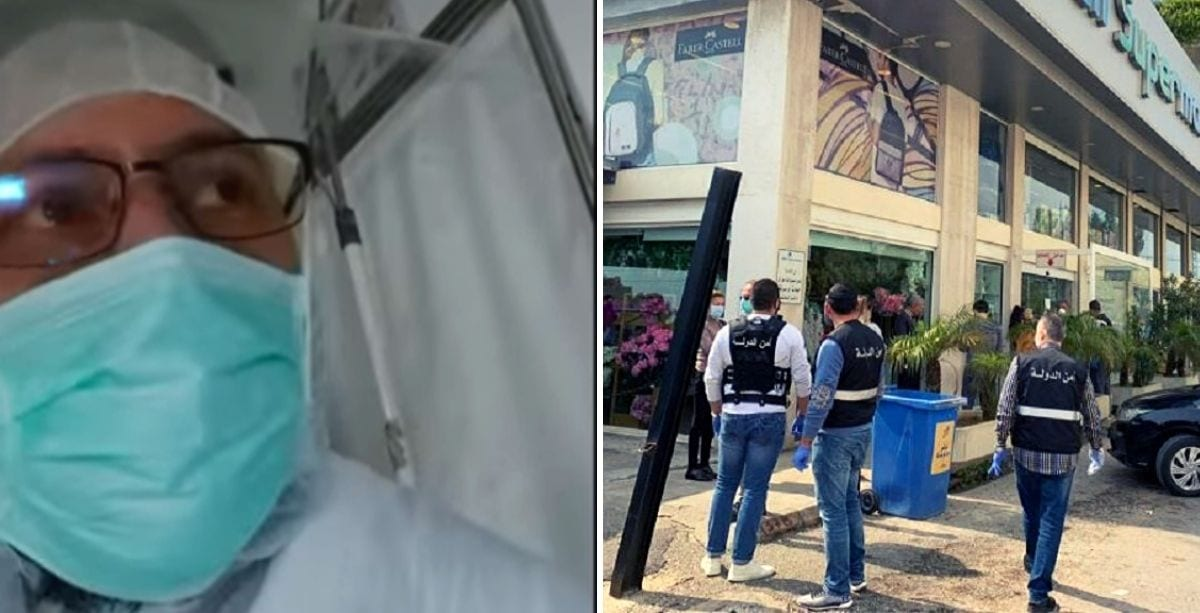 Lebanese doctors are calling on security forces to uncover impostor