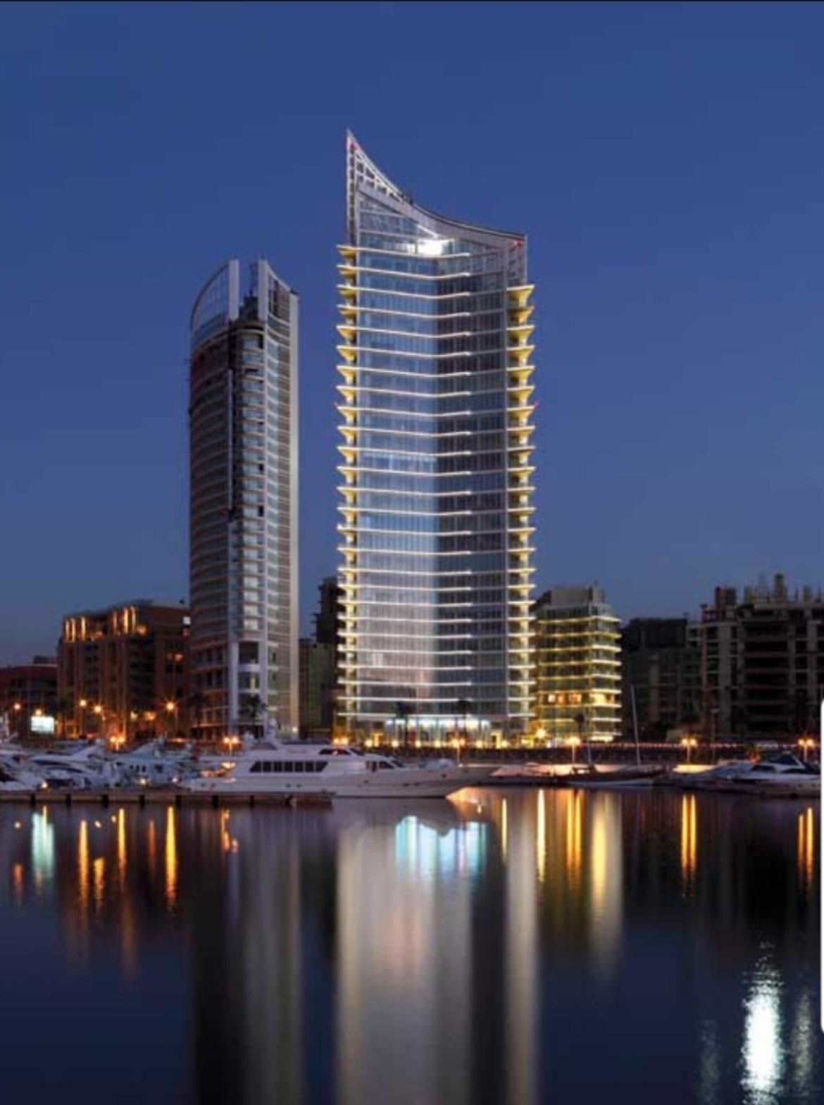Marina Tower in Beirut, Lebanon
