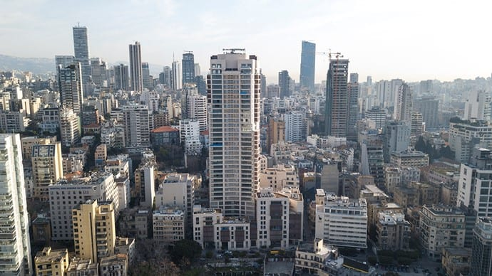 Place Pasteur is the 8th tallest building in Lebanon