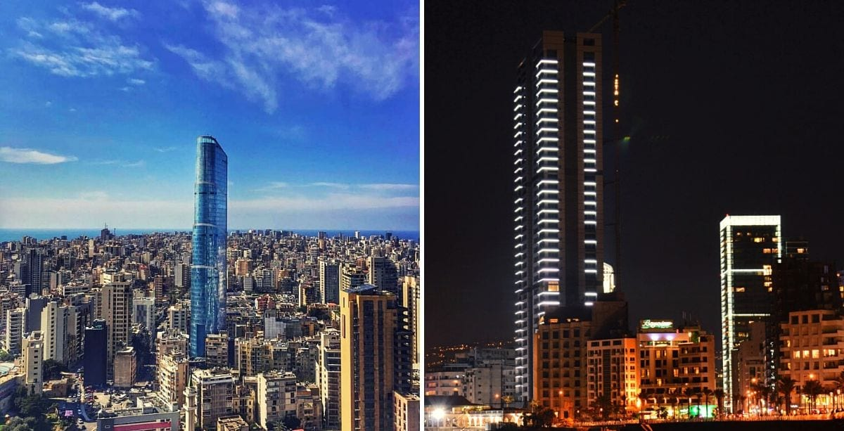 Top 10 Tallest Buildings in Lebanon