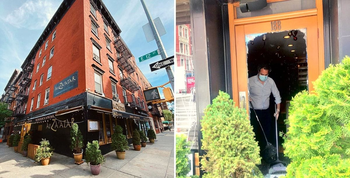 Damaged Lebanese Restaurant in New York Will donate to George Floyd's Family