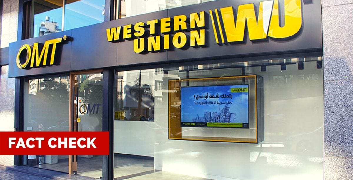 Did Western Union's Foreign Agents Just Blacklist Lebanon