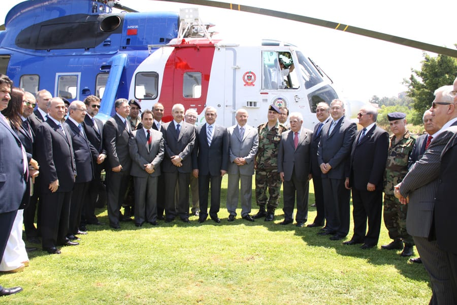 Lebanese Army receives Sikorsky helicopter