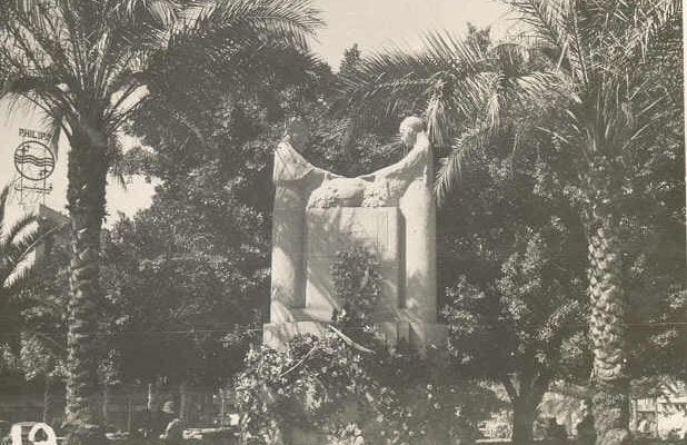 The Weeping Women monument in Martyrs' Square, Beirut