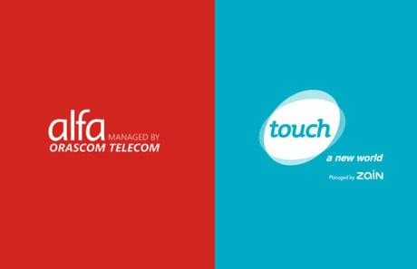 Alfa and Touch telecoms companies in Lebanon
