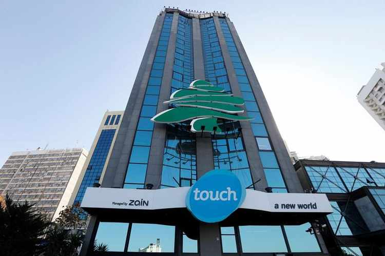 Touch building in Beirut