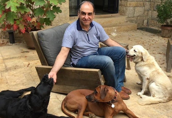 Dr. Riad Sarkis is working on training COVID-19-detecting dogs in Lebanon