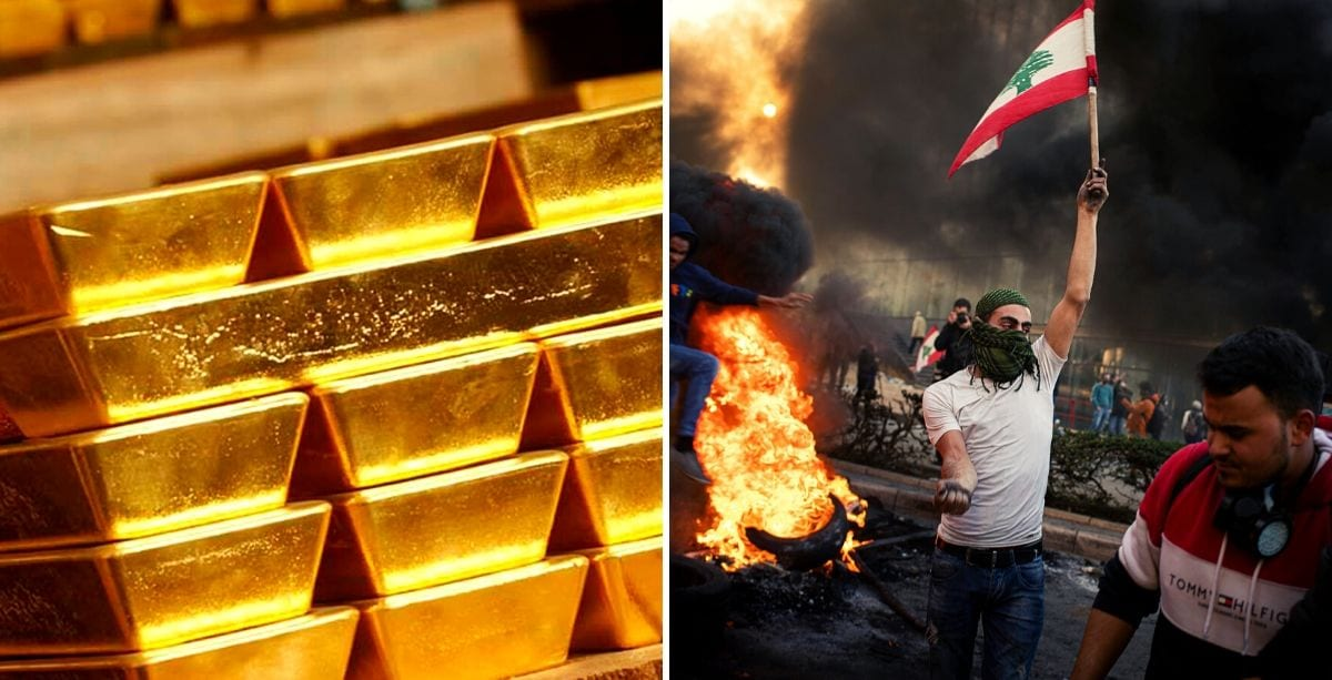 Expert Says Gold Reserves Can Help Alleviate Lebanon's Crisis