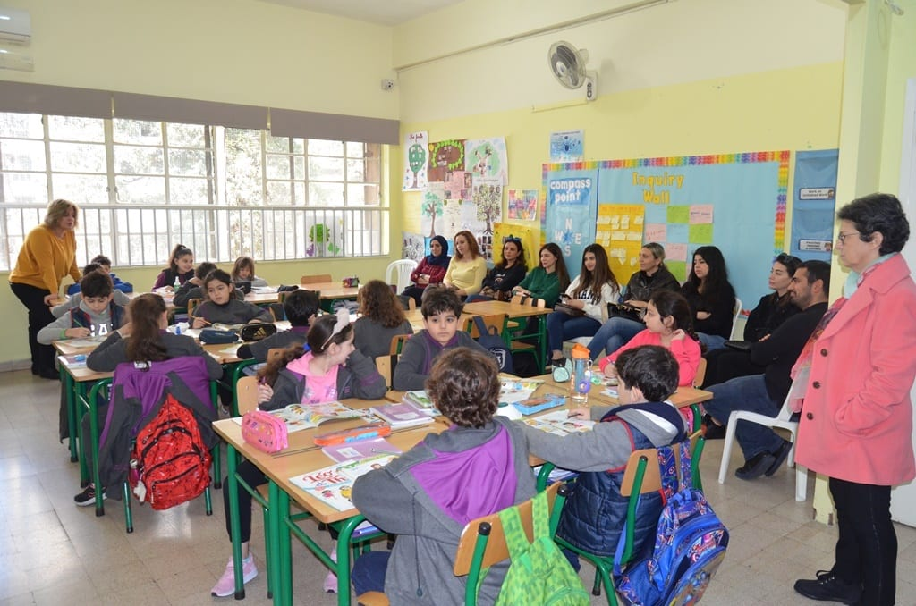 Students in Lebanon