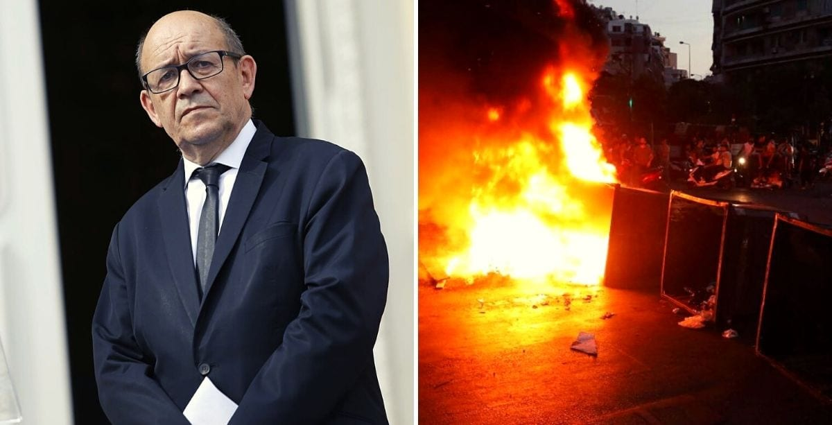 French Foreign Minister_ Lebanon Is On The Verge Of The Abyss.