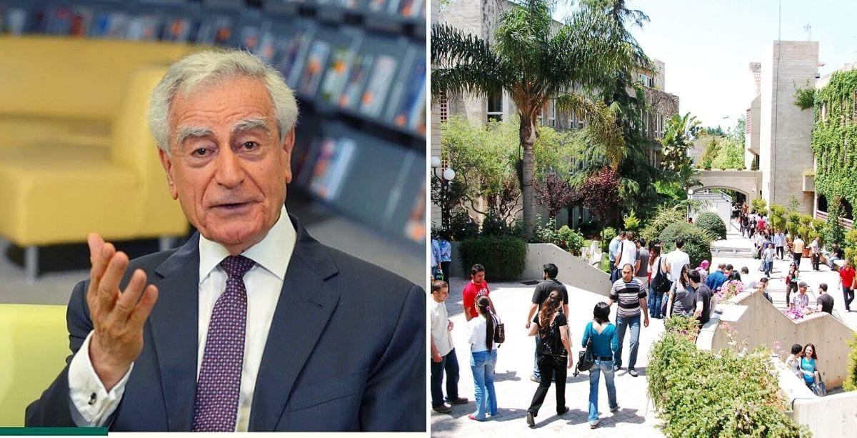 LAU President Urges Graduates Not To Emigrate From Lebanon
