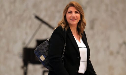 Lebanese Justice Minister Marie-Claude Najem