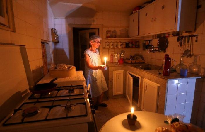 Power outages in Lebanon