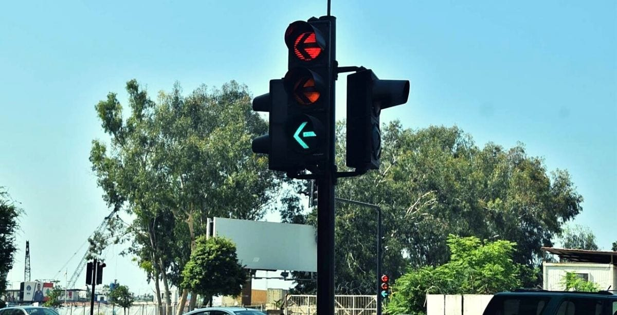 Lebanon's Broken Traffic Lights Will Be Fixed For Free