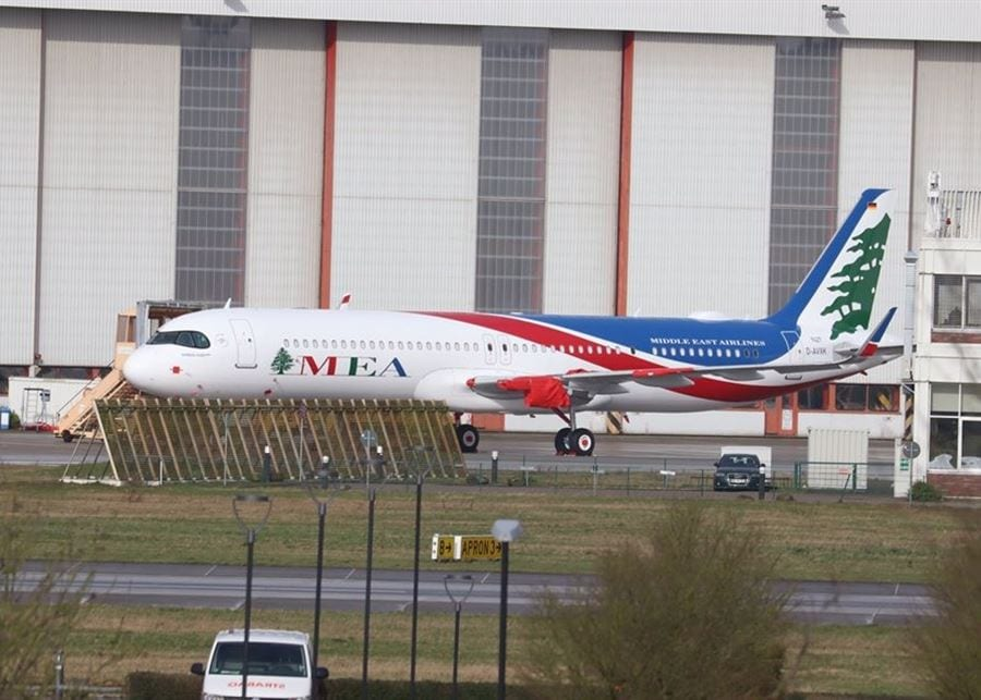 MEA Airbus A321neo will land in Beirut on July 10th