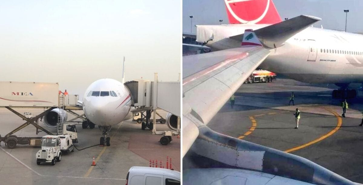 MEA Plane Just Collided With Another Plane In Nigeria