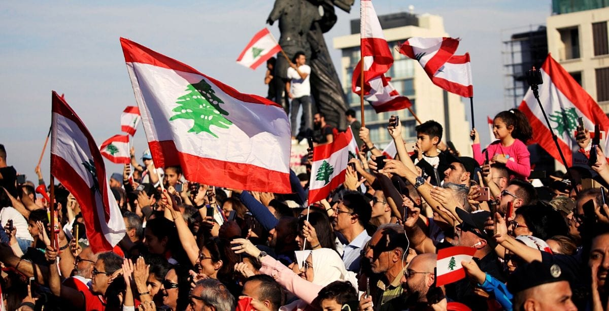 The Lebanese Revolution Is Launching Its Own TV Channel This Month