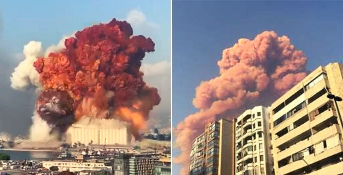Breaking: Violent Explosion Shakes Beirut