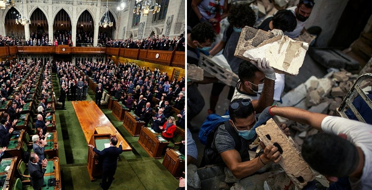Canadian Parliament Holds Minute Of Silence For Beirut Victims