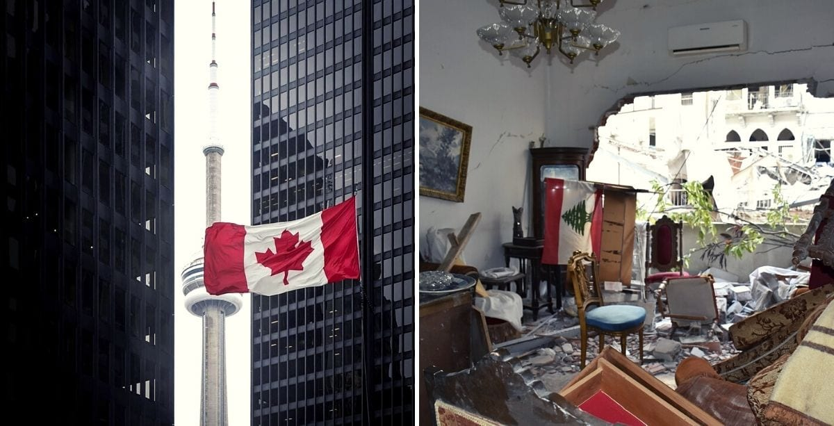 Canadians Raised $4 Million For Lebanon In Just A Few Days - Gov't Will Match It.