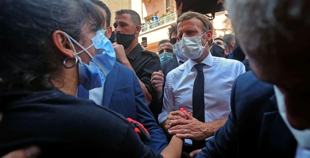 French President Won The Hearts Of The Lebanese During His Visit