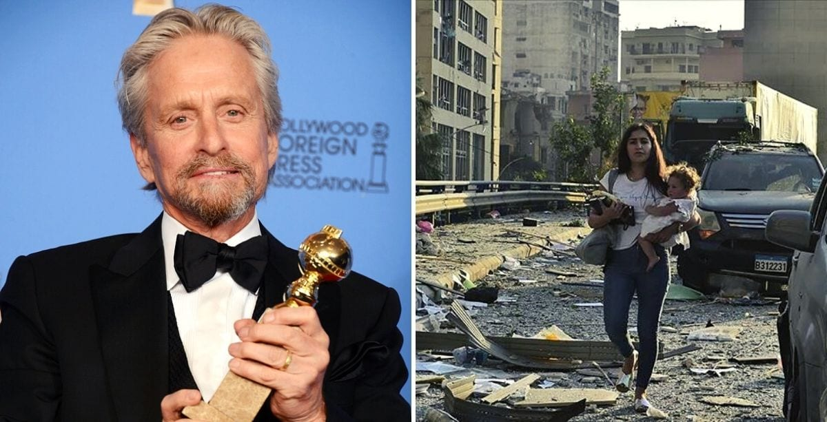 Hollywood Star Michael Douglas Sent Message Of Support To The Lebanese