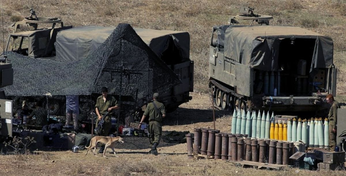Lebanese Army_ Israel Fired 200+ Shells And Missiles Into Lebanon Tuesday