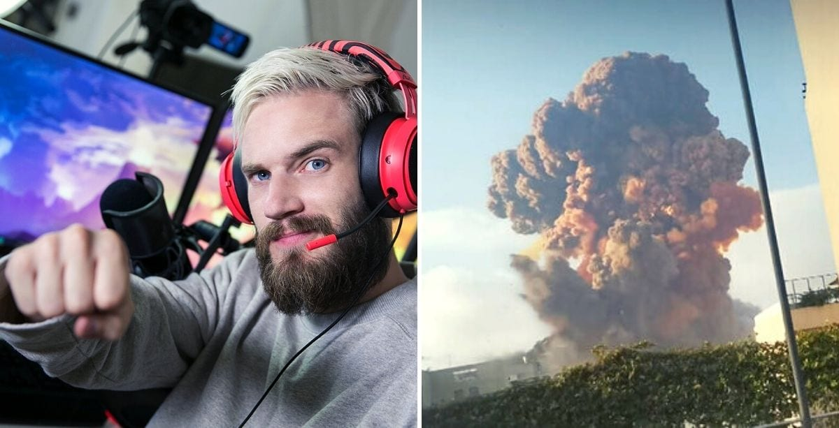 Most Popular Youtuber, PewDiePie, Just Donated $100,000 To Lebanese Red Cross