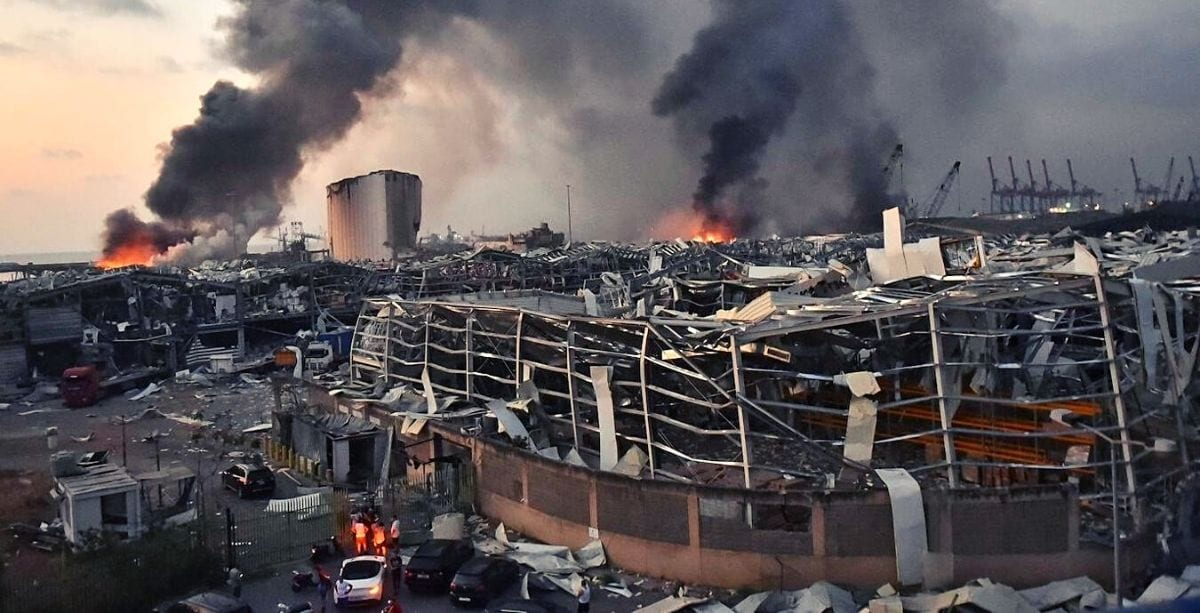 People Are Encouraged to Wear Masks and 'Leave Beirut' If They Can Following Explosion