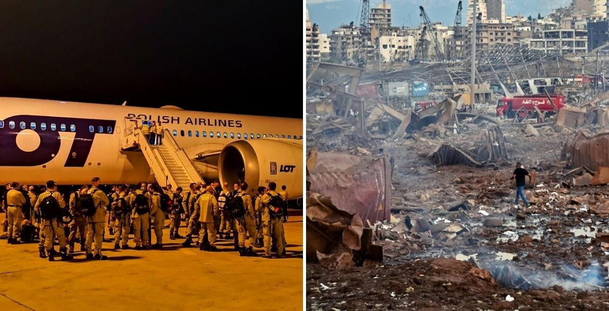 Poland, Germany, & Netherlands Are Sending Firefighters To Help Lebanon