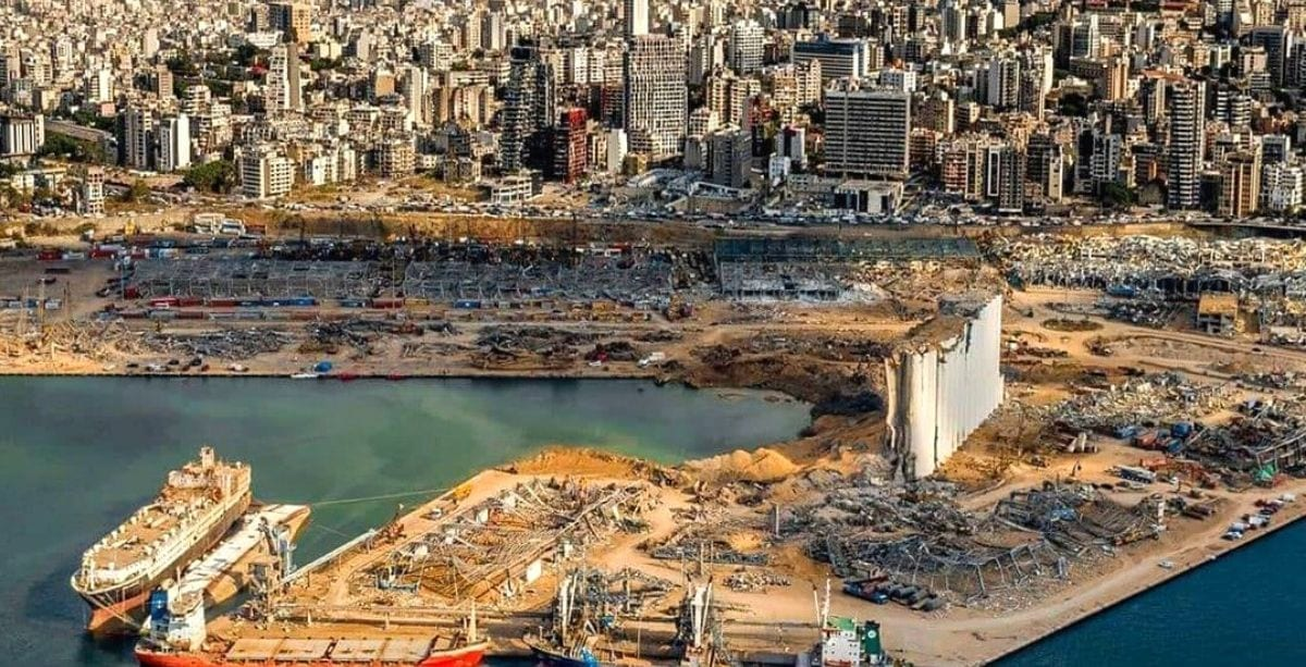 The Story Of How the Silo At Beirut Port Came To Be