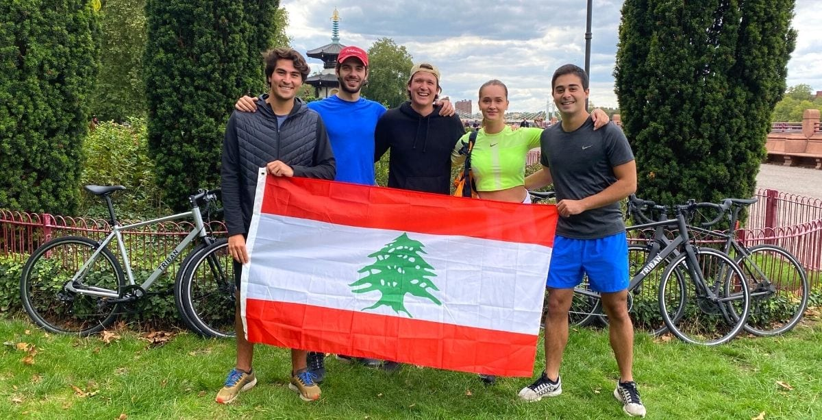 This Team Is Competing In Massive Triathlon To Raise Money For Lebanon