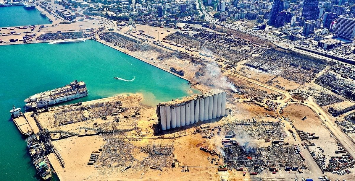 FBI Report: No More Than 552 Tonnes Of Ammonium Nitrate Exploded In Beirut On August 4th *Tap the link in @The961 bio for the full story! #The961 #Lebanon
