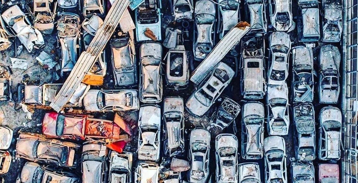 $5 Million's Worth Of Cars Was Destroyed By The Explosion