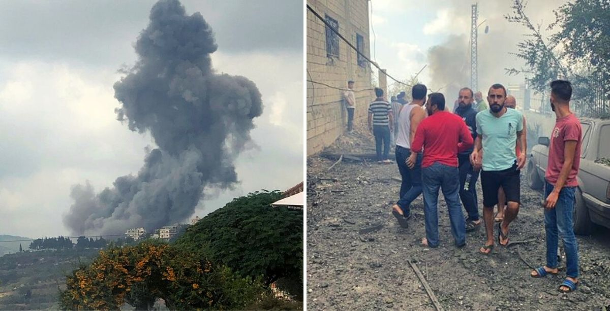 An Explosion Just Shook South Lebanon