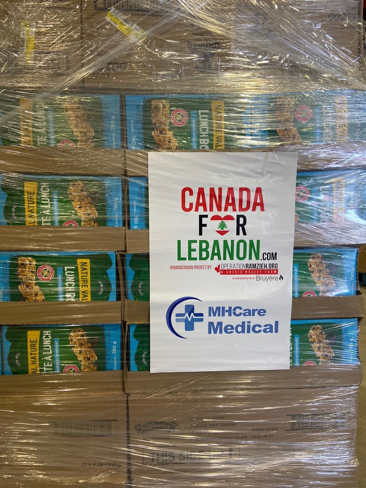 Canada for Lebanon food donations
