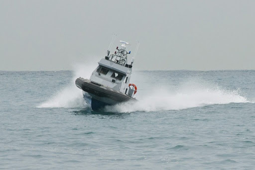 A Cypriot marine police vessel