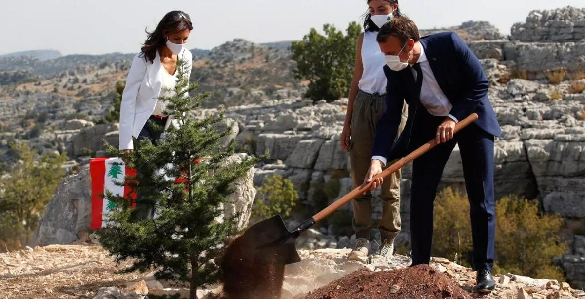 Everything You Need To Know About Macron's Visit To Lebanon So Far