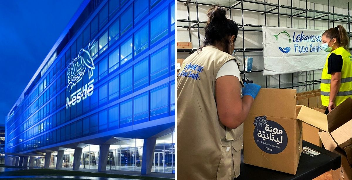 How Nestlé Has Provided Over $1 Million In Relief To Lebanon.