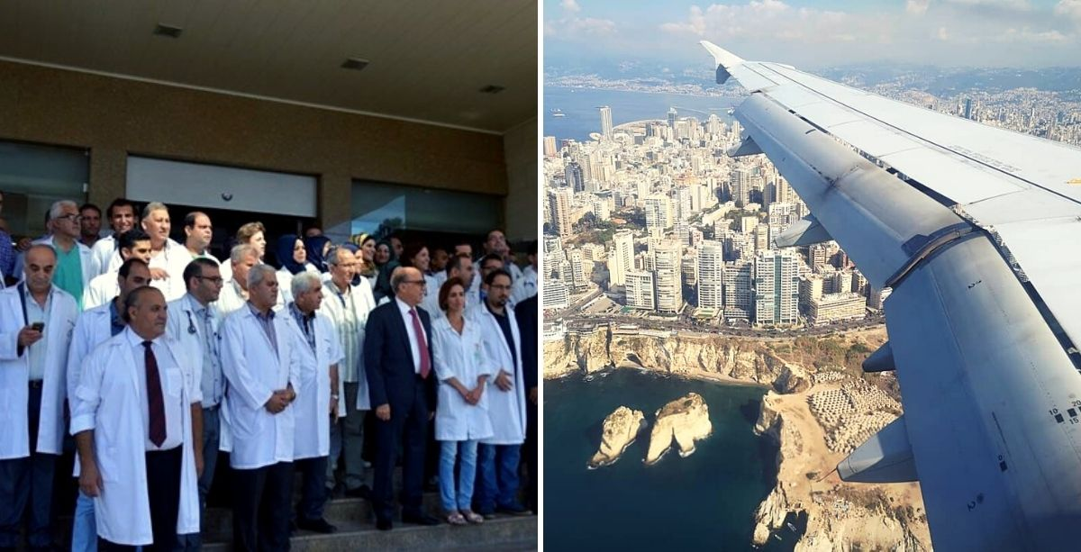 Hundreds Of Doctors And Nurses Are Emigrating From Lebanon