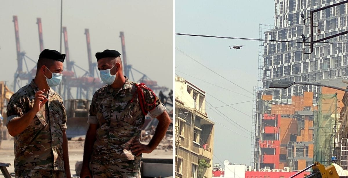 Drones Prohibited From Flying Over Beirut Until 8 PM