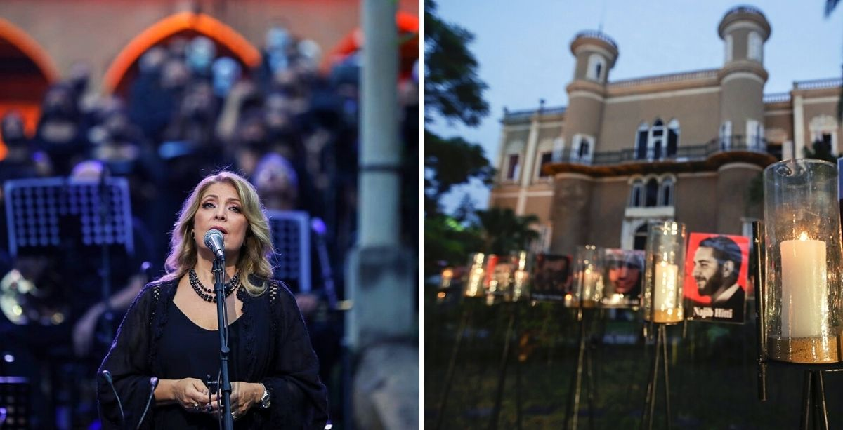 Scarred Sursock Palace Hosted Concert In Honor Of Beirut Blast Victims
